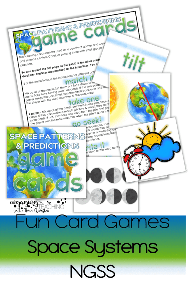 NGSS Space Systems - Card Games - engagingteaching.com