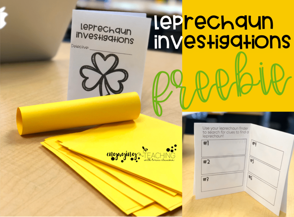 St. Patrick's Day Classroom FREE Activities