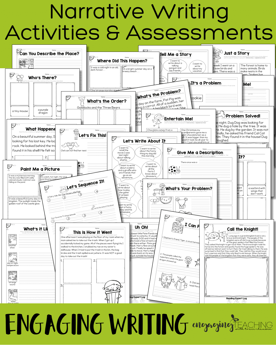 Narrative Activities & Assessments