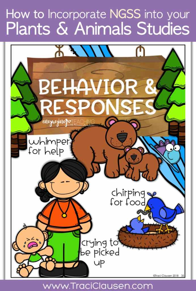 1st Grade Life Science NGSS Behavior & Responses