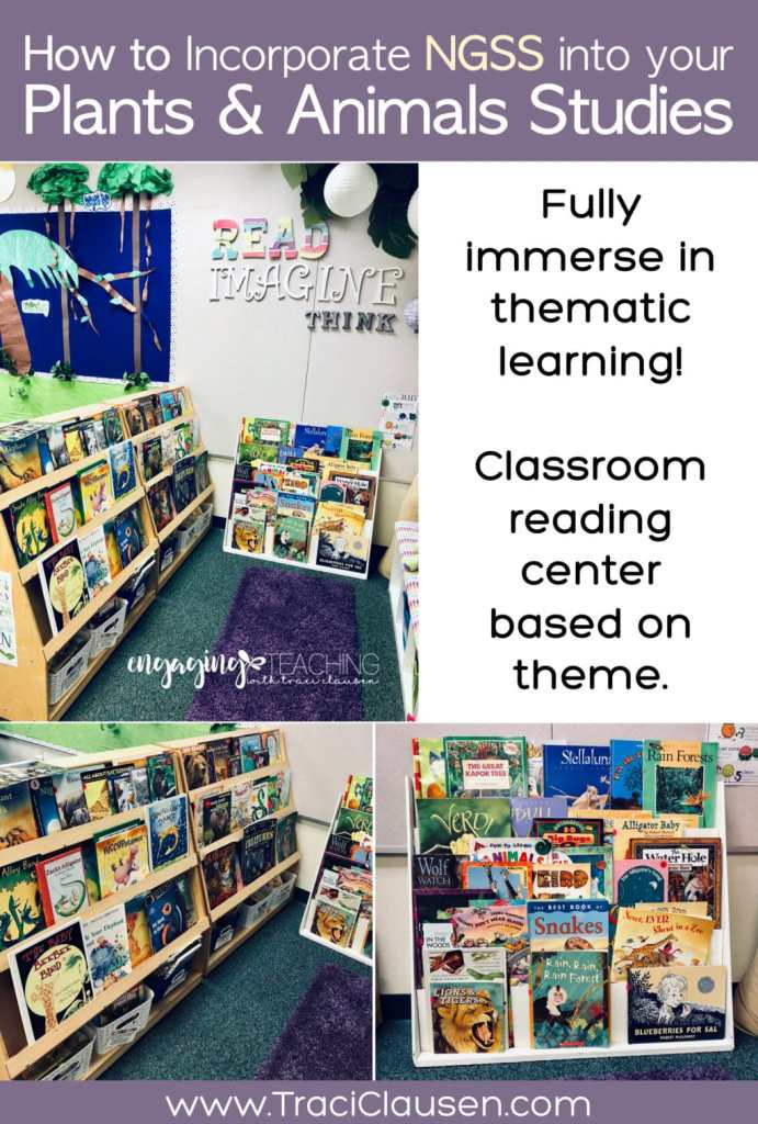 1st Grade Life Science NGSS Classroom Library