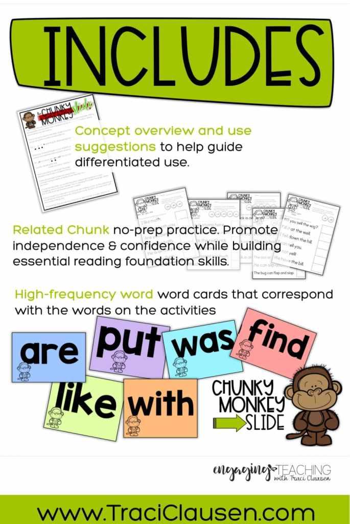 Chunky Monkey Includes Info