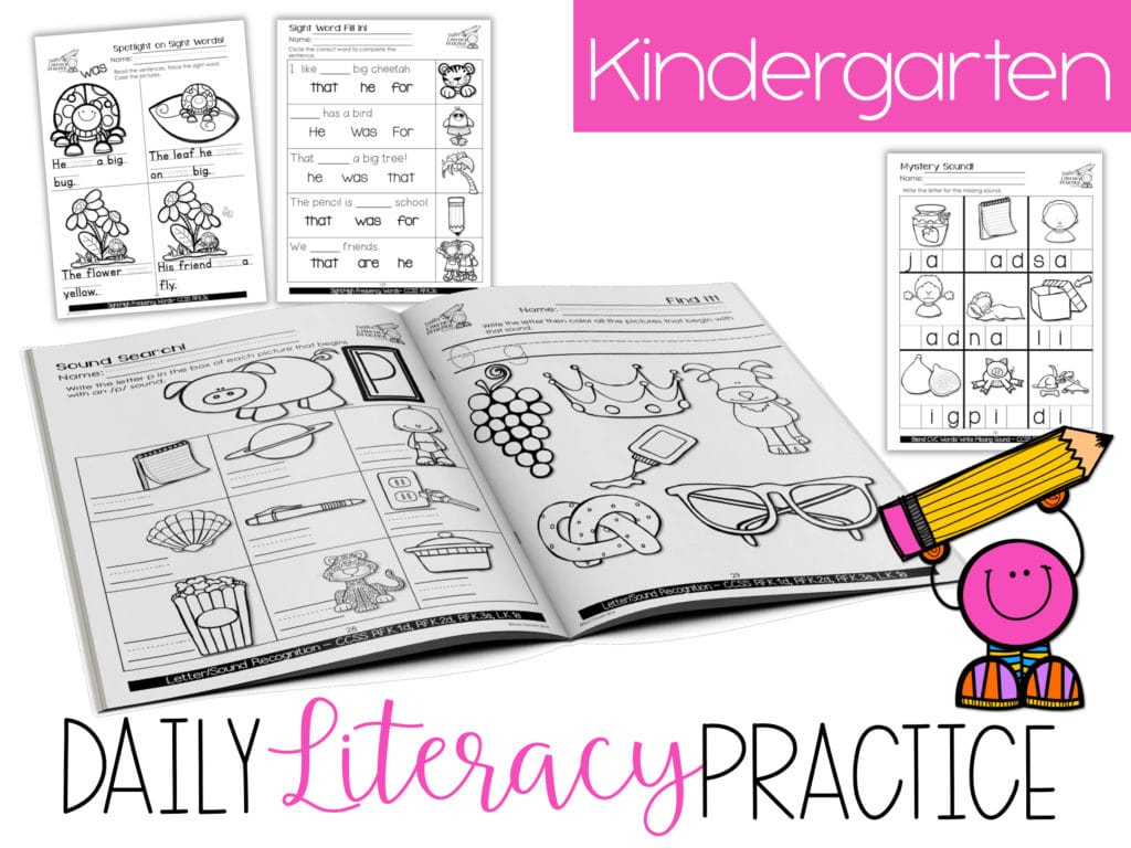 Daily Literacy Practice Activities