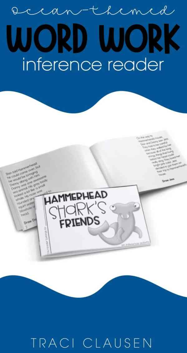 Little book- inference reader - Hammerhead Shark's Friends