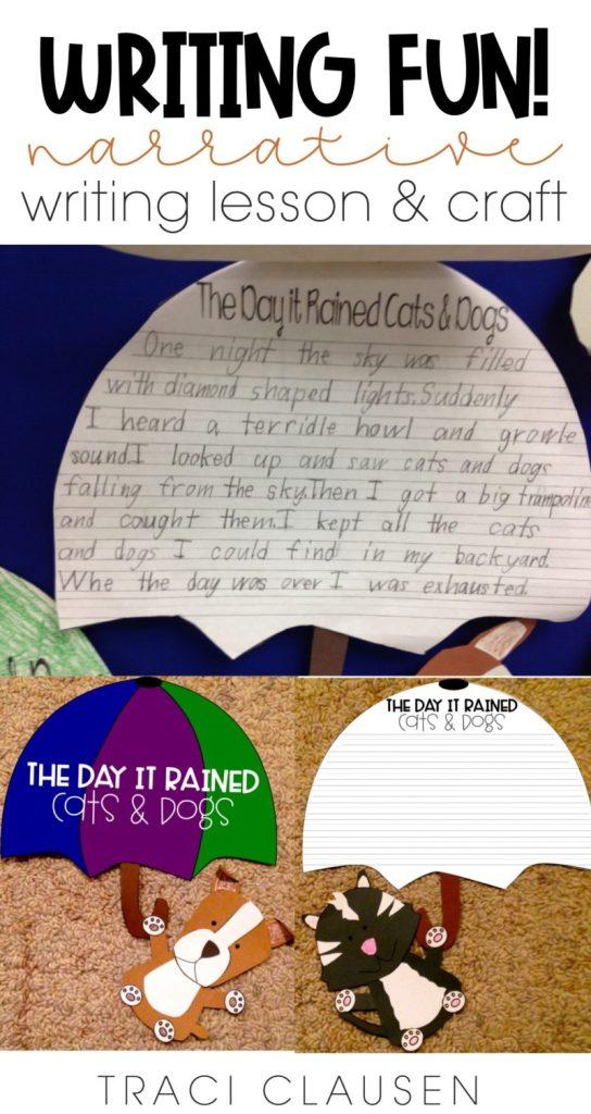 Student sample writing