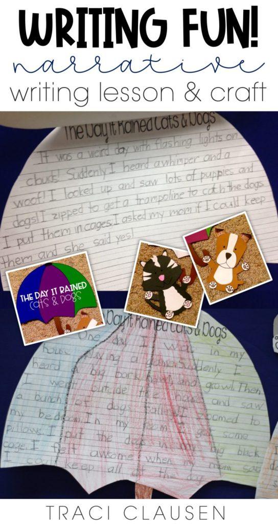 Sample student writing