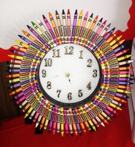 Crayon Clock