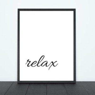 Relax Print   Tracie Braylock