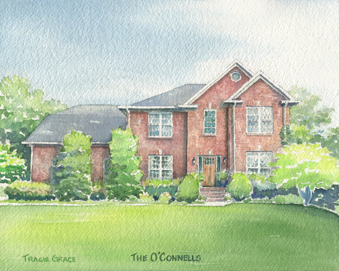 House Portrait – The O'Connells