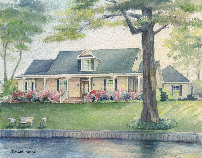 House Portrait – The Lakehouse