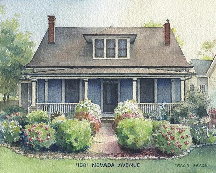 House Portrait – East Nashville