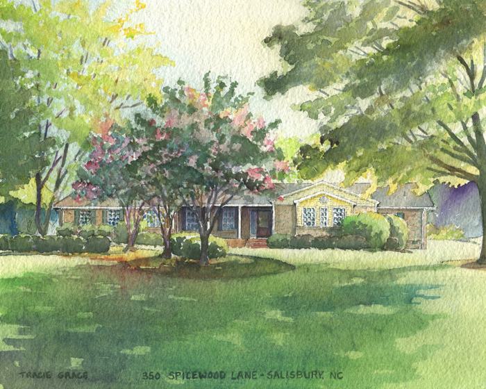 North Carolina Home Portrait