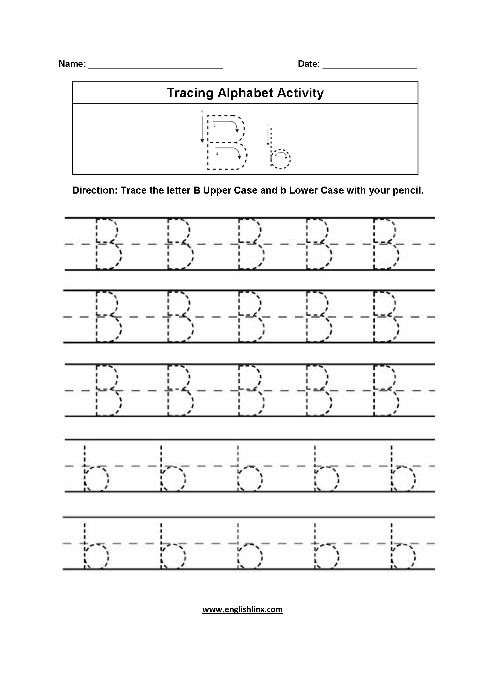 K5 Learning Worksheets Abc