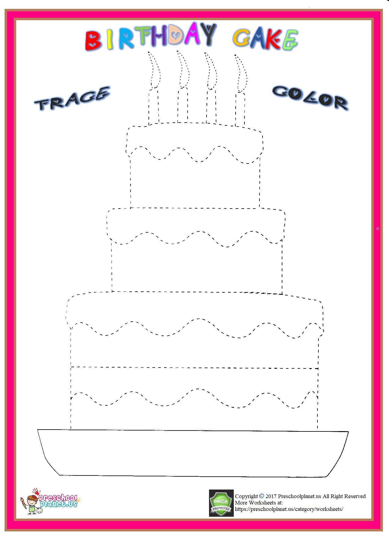 Happy Birthday Tracing Letters