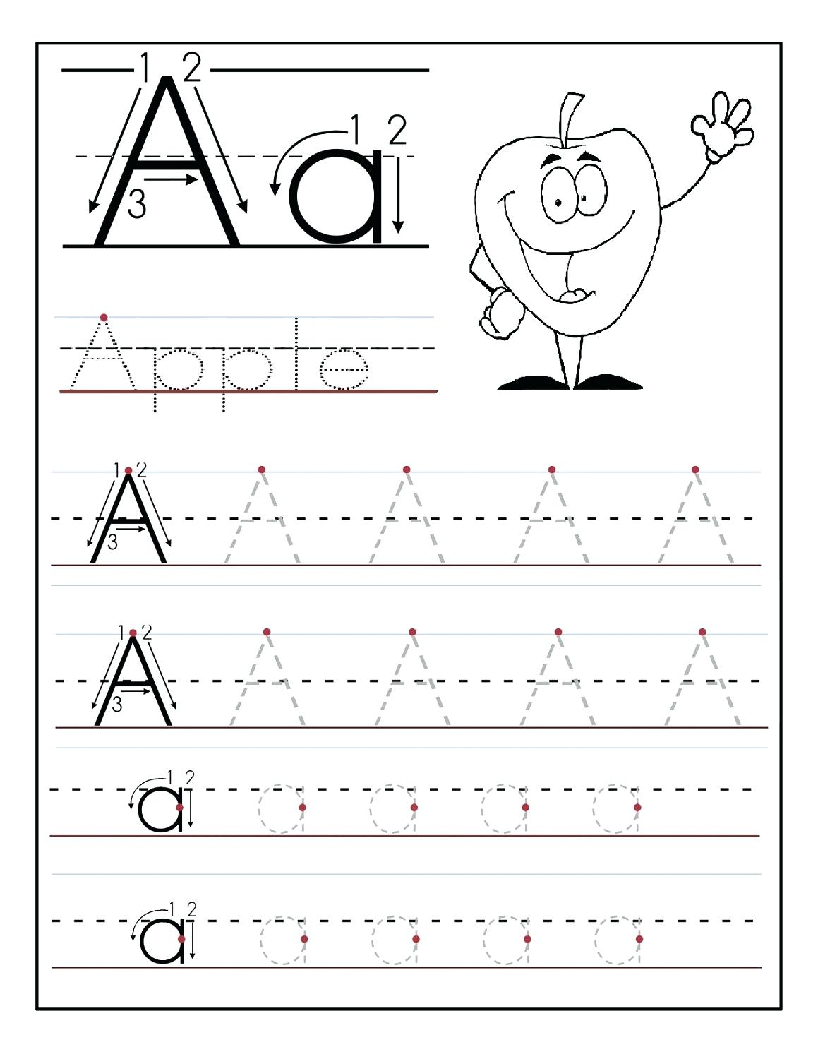 Tracing Letters Of The Alphabet Free Printables