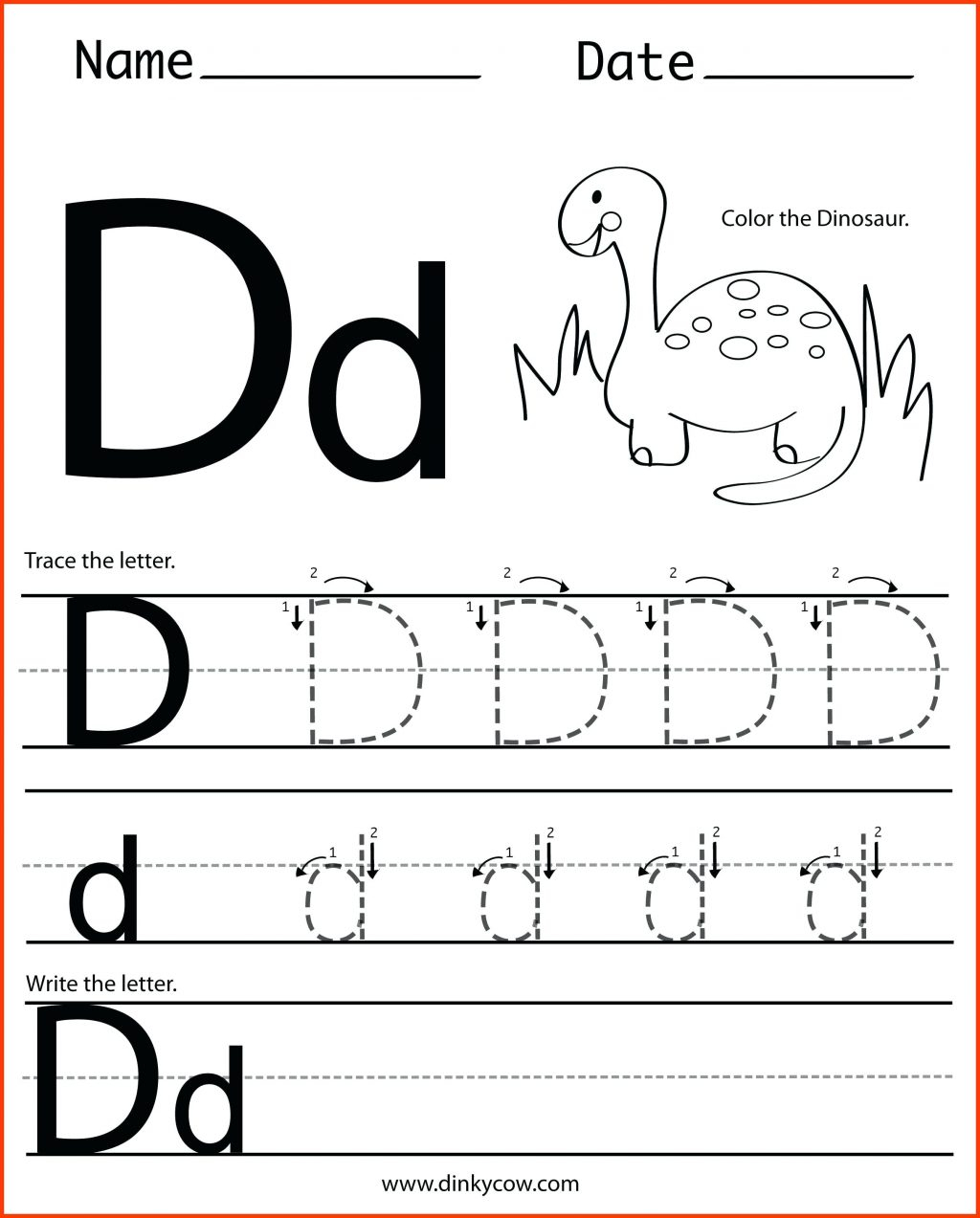 Printable Tracing Letters For 3 Year Olds