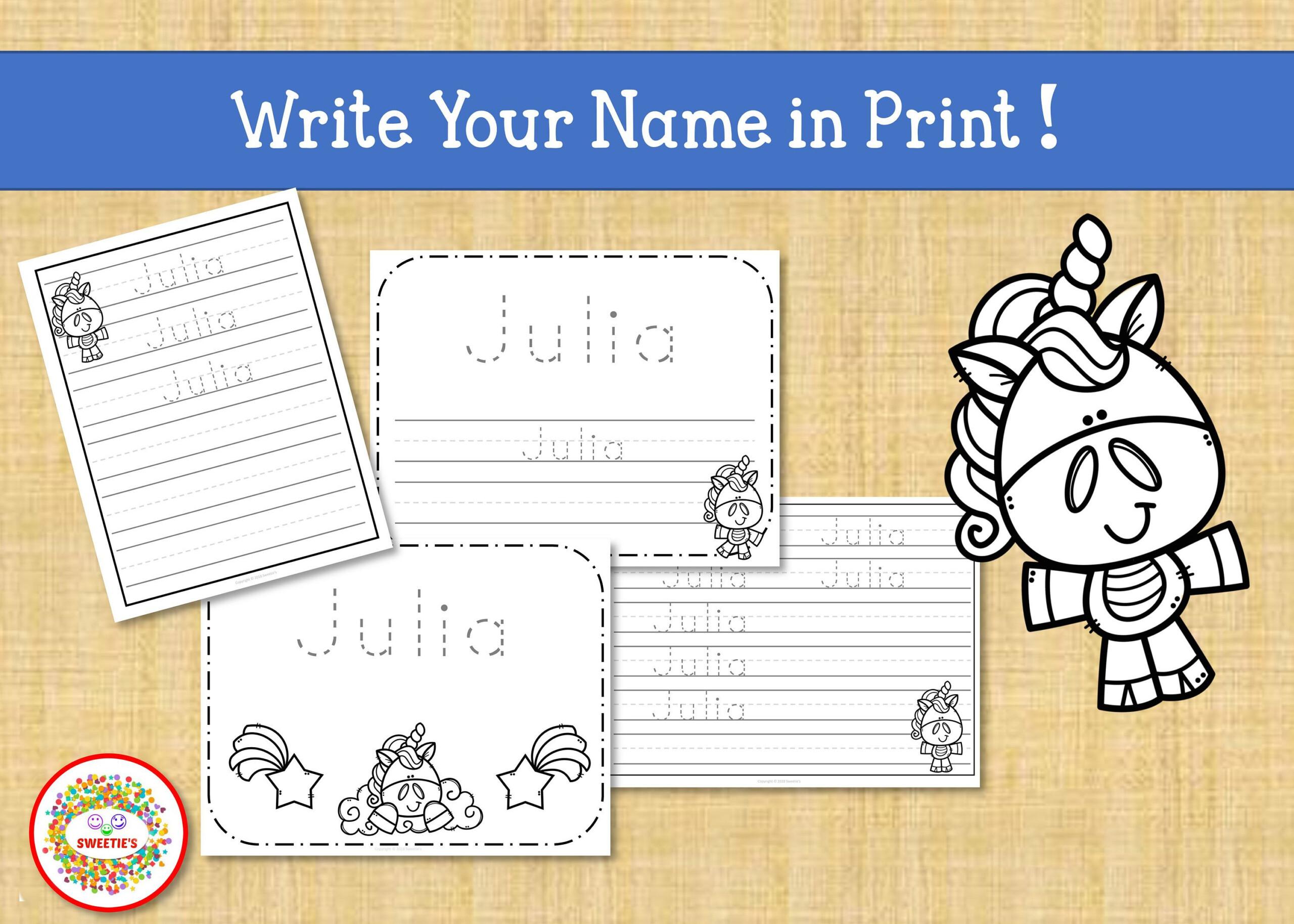 Letter Tracing Worksheets Custom