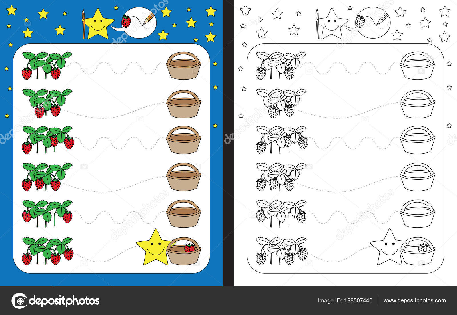 Graphomotor Activity Tracing Letters