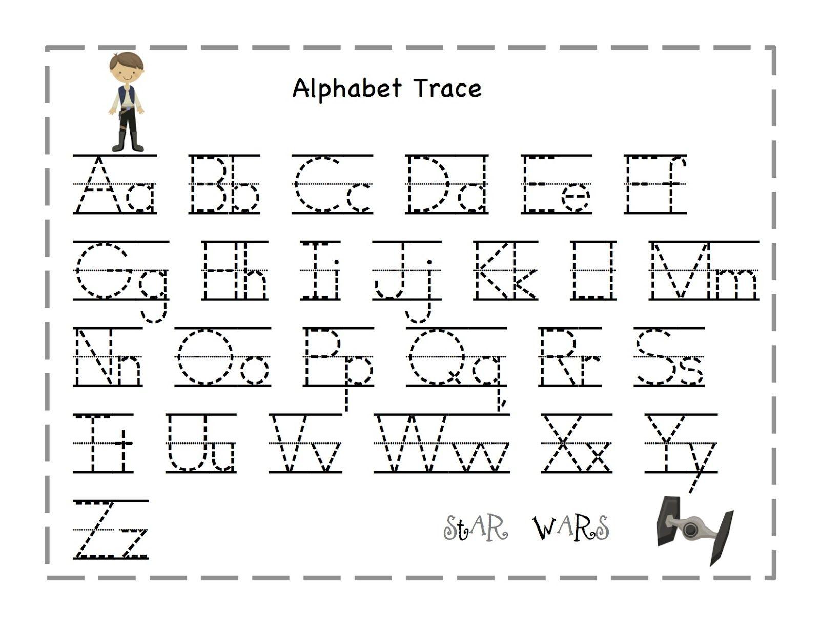 Practice Tracing Letters Preschool