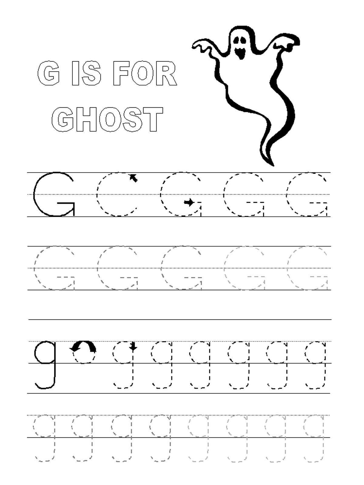 Letter Tracing Activity Worksheets
