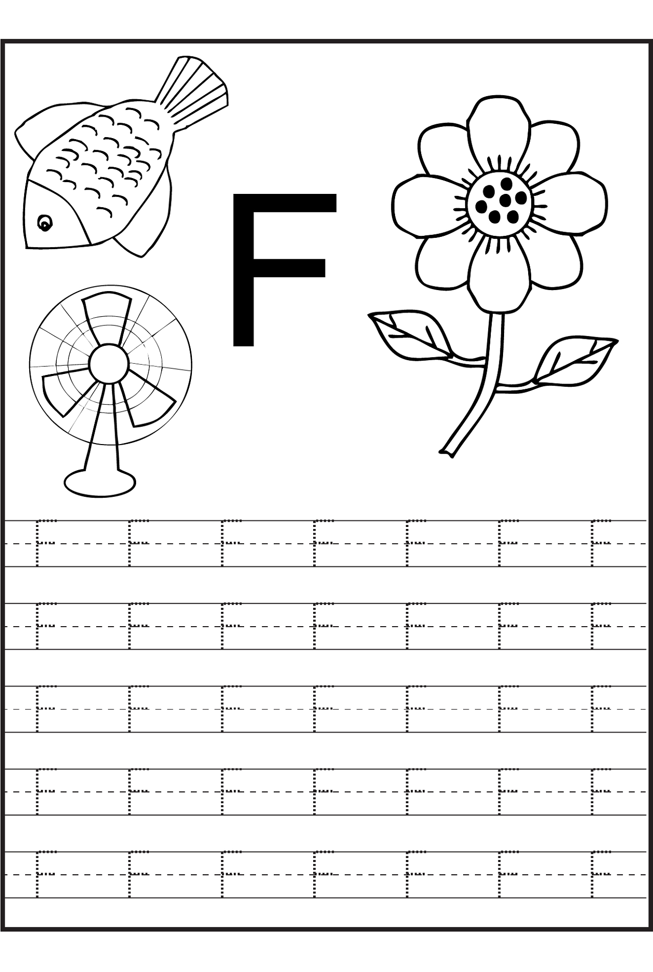 Tracing Letters Worksheets Free