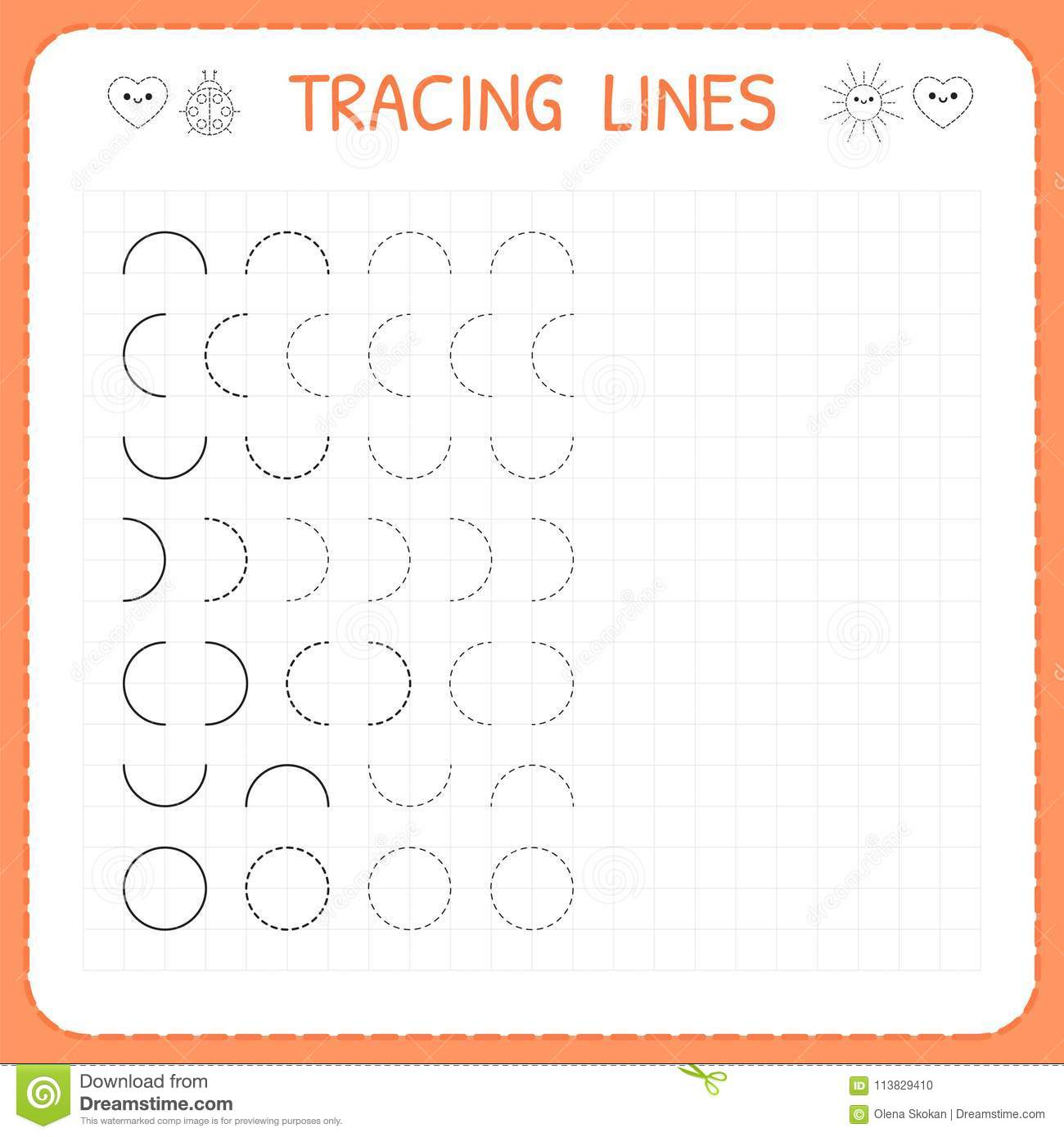 Tracing Line Font Download