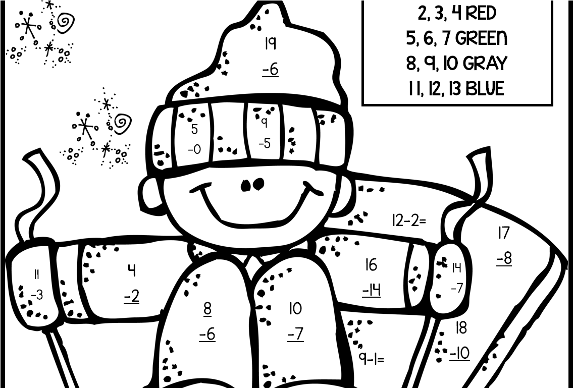 Free Printable Christmas Math Worksheets 2nd Grade