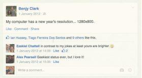 Facebook humour...