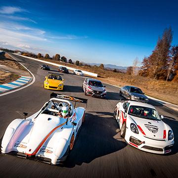 Track Speed Cars