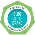Blog meets brand button