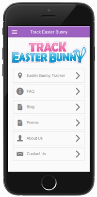 Easter Bunny Tracker app