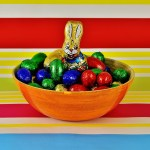 Easter Candy Chocolate Eggs