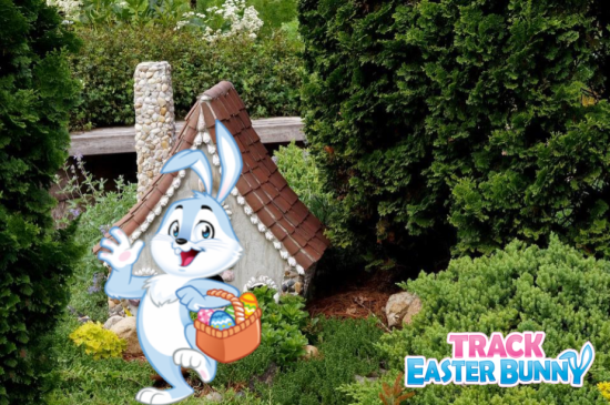 Easter Bunny Home