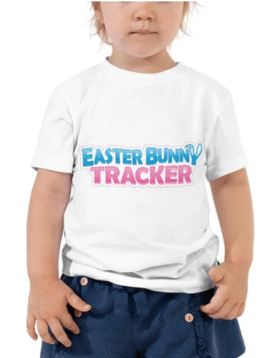 Official Easter Bunny Tracker t-shirt
