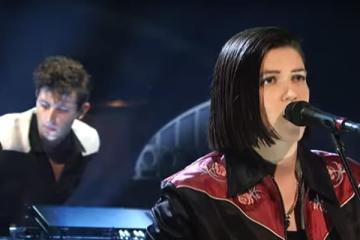 The xx live at Saturday Night Live