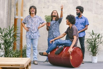 Boogarins Pattern Repeated On
