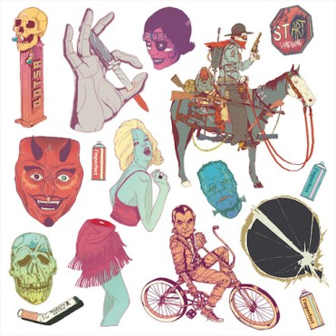 Queens of the Stone Age 'Villains' Artwork