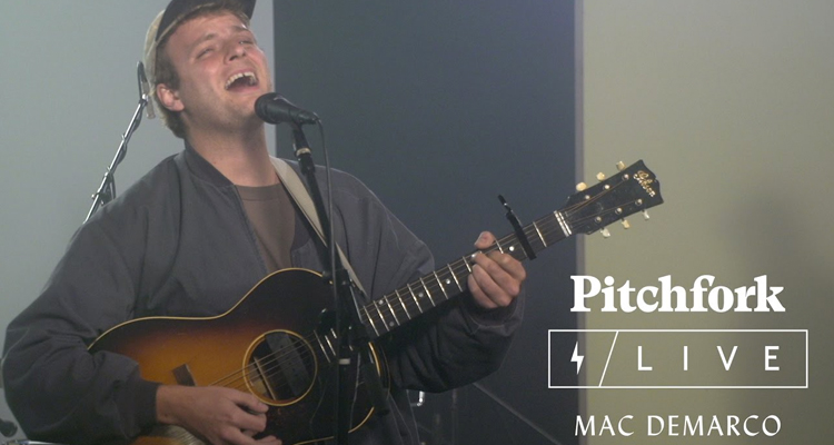 Mac DeMarco Pitchfork Live