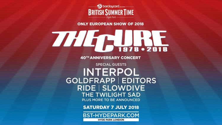 The Cure 40th Anniversary Concert