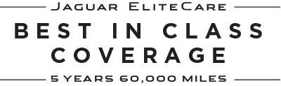 JAGUAR ELITECARE - BEST IN CLASS COVERAGE - 5 YEARS 60 000 MILES