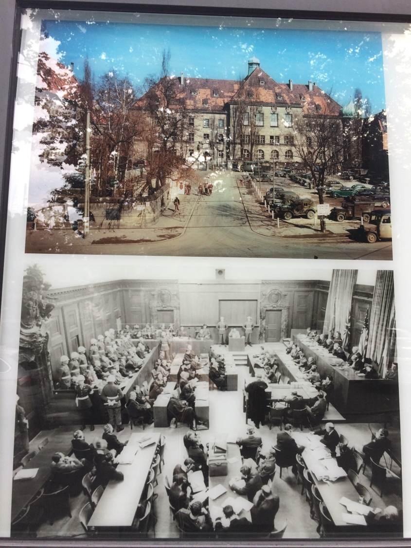 Il Tribunale di Norimberga dove venne tenuto il Processo ai criminali nazisti.