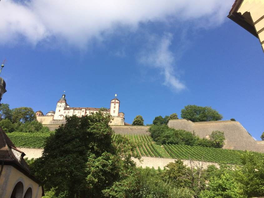 Marien Festung in Würzburg