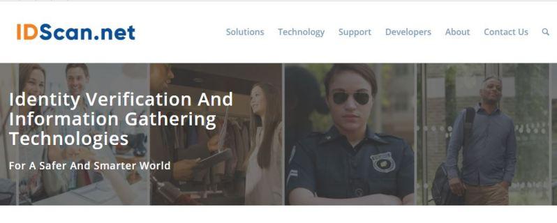 Screenshot of IDScan.net
