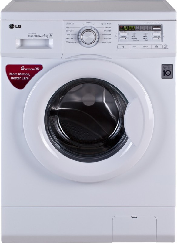 LG 6 kg Fully Automatic Front Load Washing Machine(FH0B8NDL22)