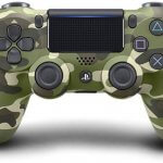 Sony PS4 Dualshock Controller - V2 (Green Cammo) Gamepad