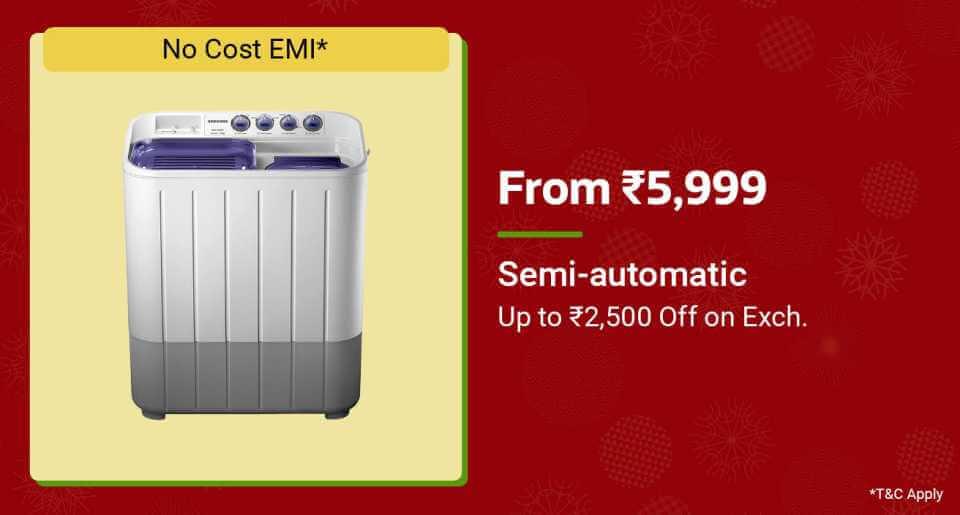 Semi-Automatic Washing Machines Offers