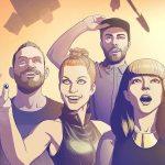 "Chvrches divulga clipe animado de ""Bury It"", parceria com Hayley Williams"