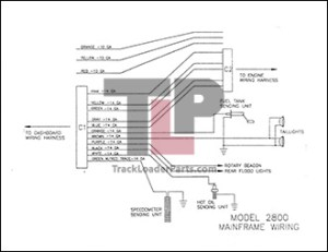ASV 2800 Track Truck OEM Parts Diagrams