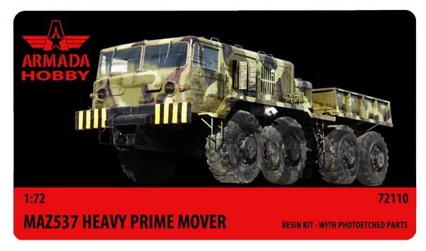 MAZ 537 Prime Mover - Click Image to Close