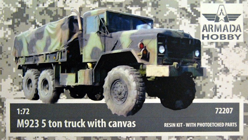 """M923 5t truck """"Bigfoot"""" with canvas - Click Image to Close"""